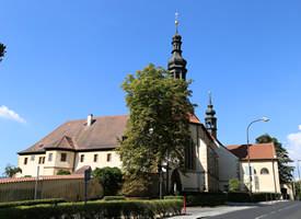 Franziskaner Kloster in Kadaň (Start- / Zielpunkt des ErzCamino)