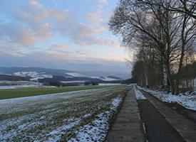 Panorama - Weg (von Elterlein kommend in Richtung Waschleite)