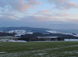 Panorama (Blick auf das Oberbecken Talsperre Markersbach)
